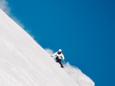 Ski en nieve